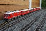 2014-08-28: Der längste Zug der RhB mit 4,50 Metern