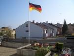 Die Deutschland-Flagge